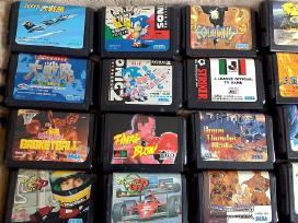 Originalūs Sega Mega Drive žaidimai / disketės - nuotraukos Nr. 2