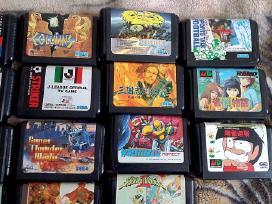 Originalūs Sega Mega Drive žaidimai / disketės - nuotraukos Nr. 4