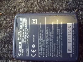 Pakrovejas ir baterija Canon, Sony, Samsung