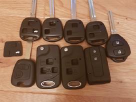 Toyota raktai pultelis rakto korpusas raktas