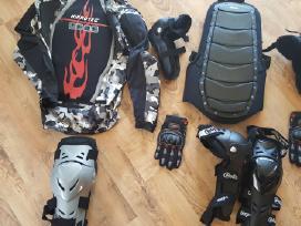 Motociklininko apsaugų,batų pardavimas bei nuoma
