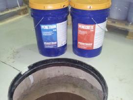 Betoninių šulinių hidroizoliavimas su Penetron