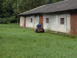 Žolės pjovimas - nuotraukos Nr. 3