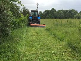 Žolės pjovimas - nuotraukos Nr. 2