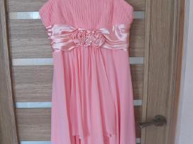 Parduodu persiko spalvos progine suknele - nuotraukos Nr. 2
