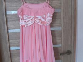 Parduodu persiko spalvos progine suknele - nuotraukos Nr. 3