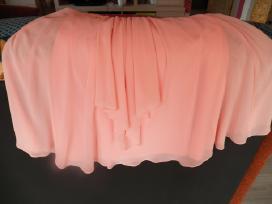 Parduodu persiko spalvos progine suknele - nuotraukos Nr. 4