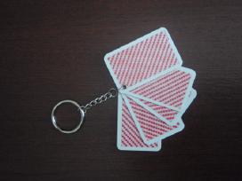 Las Vegas lošimo kortos raktų pakabukas - nuotraukos Nr. 4