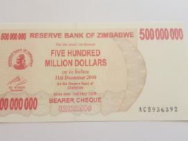 500 milijonų Zimbabvė - Zimbabwe - Unc
