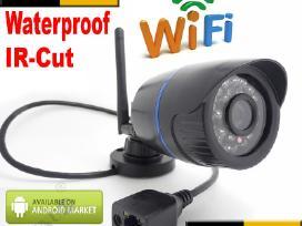 2 Megapixel WiFi Ip belaide lauko vaizdo kamera