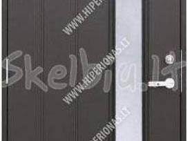 Šiltos lauko dazytos durys vilniuje - nuotraukos Nr. 4
