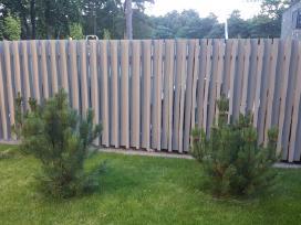 Tvorų tvėrimas montavimas Tvoros : - nuotraukos Nr. 4