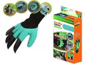 Sodinimo - Ravėjimo Sodo Pirštinės Su nagais
