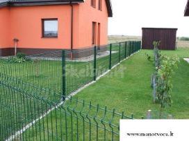 Segmentinės, tinklinės tvoros, vartai - nuotraukos Nr. 2