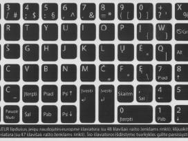 Ypač kokybiški lipdukai klaviatūrai su Lt raidėmis - nuotraukos Nr. 3