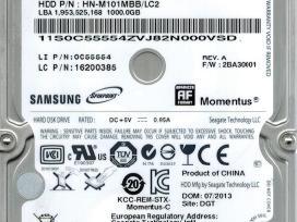 "2.5"" sata laptop HDD su garantija"