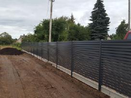 Tvorų tvėrimas montavimas Tvoros : - nuotraukos Nr. 3