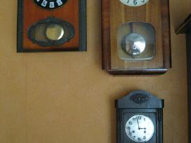 Sieniniai Laikrodziai .Zr. Foto.