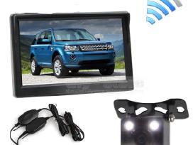 Galinio vaizdo kamera ir LCD monitorius 5 coliu