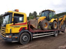 Tralas, traktoriu pervezimas,kroviniu gabenimas. - nuotraukos Nr. 2