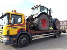 Tralas, traktoriu pervezimas,kroviniu gabenimas. - nuotraukos Nr. 4