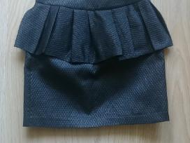 Naujas Bik Bok juodas peplum sijonas
