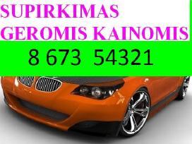 Geromis kainomis superkame automobilius. Vilnius