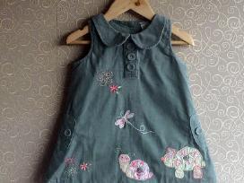 Next suknelė - sarafanas 6-9m 74 dydis, pilkas