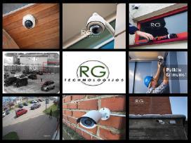 Vaizdo kamerų, stebėjimo sistemų įrengimas! - nuotraukos Nr. 2