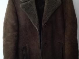 Australiško avikailio šiltas vyriškas paltas