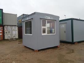 Sargo namelis modulis, buitinis konteineris Akcija