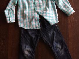 Reserved marškiniai ir Lindex džinsai 92 dydis