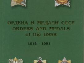 """""""oRdinai ir medaliai """"knygos-katalogai"""