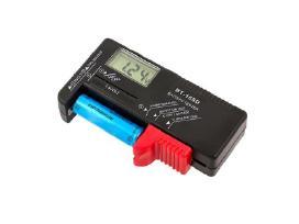 Elektroninis elementų baterijų testeris matuoklis