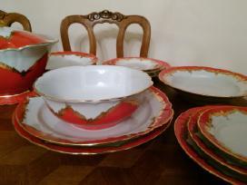 Pietų servizas antikvaras porcelianas