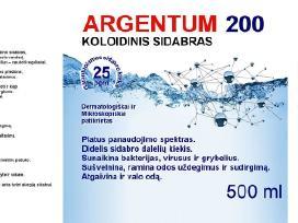 Koloidinis sidabras - 500 ml - nuotraukos Nr. 2