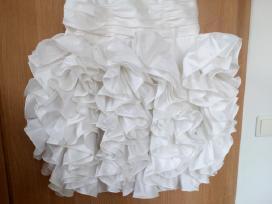 Balta progine suknele. - nuotraukos Nr. 3
