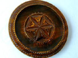 Didelės dekoratyvinės medinės lėkštės - nuotraukos Nr. 2