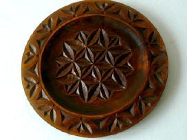 Didelės dekoratyvinės medinės lėkštės - nuotraukos Nr. 3