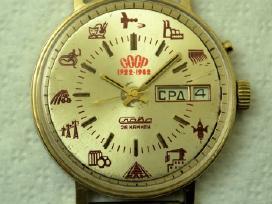 CCCP - laikrodis Slava . Slava CCCP 1922 - 1982 - nuotraukos Nr. 4