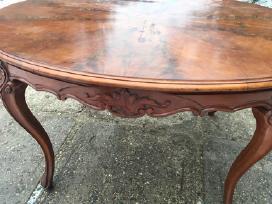 XIX a raudonmedžio stalas - nuotraukos Nr. 2