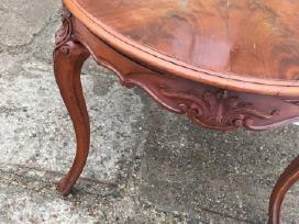 XIX a raudonmedžio stalas - nuotraukos Nr. 3