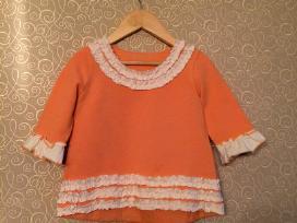 Persikinės / abrikosinės spalvos suknelė tunika