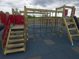 Vaikų žaidimų aikštelių danga - nuotraukos Nr. 2