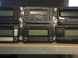 Įvairios Audi, Vw, Skoda, Bmw, Toyota magnetolos