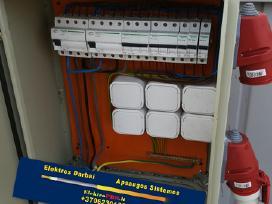 Elektros darbai,apsaugos sistemos,varžų matavimai,