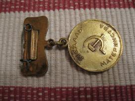 CCCP - medalis . . .geros bukles.zr. foto. - nuotraukos Nr. 2