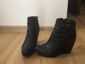 Odiniai natūraliu kailiu Este firmos batai