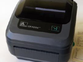 Zebra Gk420d terminis etikečių spausdintuvas