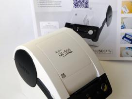 Brother Ql-500 etikečių spausdintuvas